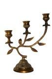Castiçal de bronze Fotos de Stock Royalty Free