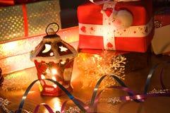 Castiçal do Natal. imagens de stock royalty free