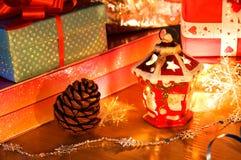 Castiçal do Natal. fotos de stock royalty free