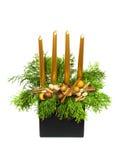 Castiçal do Natal Imagens de Stock