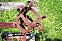 Castiçal oxidado Fotografia de Stock