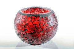 Castiçal vermelho Imagem de Stock Royalty Free