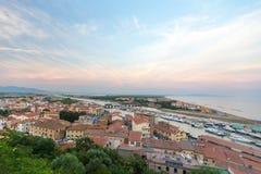 Castigliano Della Pescaia, Włochy zdjęcia stock