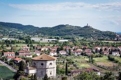 Castiglion Fiorentino в Тоскане - Италии Стоковые Фото