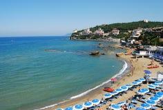 Castiglioncello, Italia. View from a beach, Castiglioncello, Italy Royalty Free Stock Images