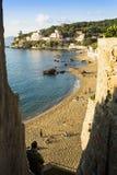 Castiglioncello plaża Zdjęcie Stock