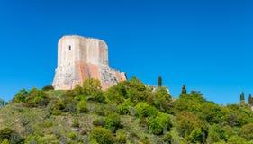 Castiglione στην περιοχή Orcia, της Τοσκάνης στοκ εικόνες