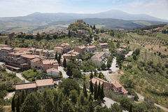 Castiglione d'Orcia place, Italy Stock Photos