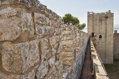castiglione del fortress lago 库存照片