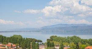Castiglione del Lago royalty-vrije stock afbeeldingen