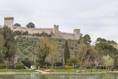 Castiglione Del Lago Obraz Royalty Free