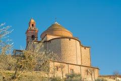 Castiglione del Lago Ombrie Image stock