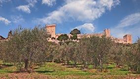 Castiglione del Lago, Perugia, Umbrië, Italië Royalty-vrije Stock Fotografie