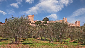 Castiglione del Lago, Perugia, Umbria, Italy Royalty Free Stock Photography