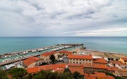 Castiglione-della Pescaia Stockbild