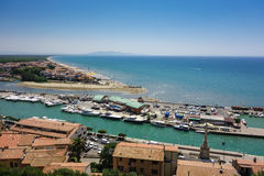 Castiglione-della pescaia, Toskana, Italien Lizenzfreie Stockbilder