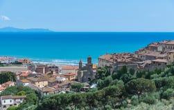 Castiglione della pescaia, Tuscany, italy Stock Photo