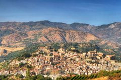 Castiglione di Sicilia Foto de archivo libre de regalías