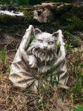 Castiglione: o gato no saco imagem de stock royalty free