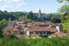 Castiglione Olona (意大利) 免版税库存照片
