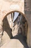 Castiglione Olona (Italië) Stock Afbeelding