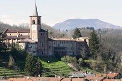 Castiglione Olona (Italie) Photographie stock