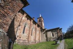 Castiglione Olona Varese, Italy: Collegiata Stock Images