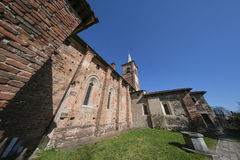 Castiglione Olona Varese, Italy: Collegiata Stock Photos