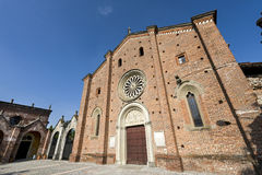 Castiglione Olona (Varese, Lombardy, Italy), the medieval Colleg Royalty Free Stock Images