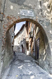 Castiglione Olona (Varese, Lombardy, Italy), the old town Stock Image