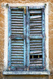 Castiglione olona    window   green  the white Stock Photo