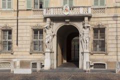 Castiglioni palace, Sordello square, Mantova Royalty Free Stock Images