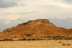 Castildetierra, пустыня Bardenas Reales Стоковая Фотография RF