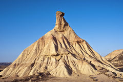 Castildetierra. The head of Castildetierra is the symbol of the natural park Bardenas royalty free stock image
