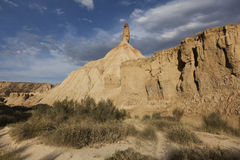 Castildetierra in the Bardenas Reales Stock Photography