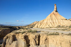 Castildetierra Bardenas Reales Stock Photography