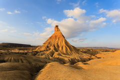 Castildetierra in Bardenas Reales Nature Park, Navarra, Spain Royalty Free Stock Photo