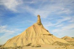 Castildetierra in desert Stock Image
