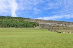 Castilian landscape, Spain Royalty Free Stock Photos