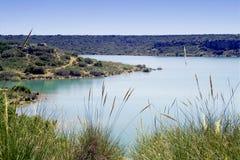 Castilla la Mancha - Spain. Natural Park of Las Lagunas de Ruidera in Castilla la Mancha - Spain Stock Photo
