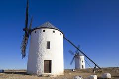 Castilla-La Mancha, Spanje. Royalty-vrije Stock Fotografie