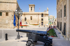 Castille Place d'Auberge de Castile vers notre Madame de Vi image libre de droits