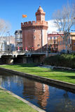 The Castillet in Perpignan Royalty Free Stock Photography