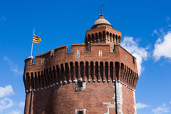 Castillet of Perpignan Royalty Free Stock Photo