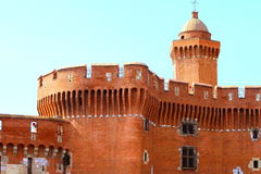 Castillet in Perpignan, France Royalty Free Stock Photos