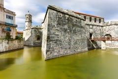 castillo实际古巴de fuerza哈瓦那的la 库存图片