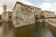 castillo实际古巴de fuerza哈瓦那的la 免版税库存照片