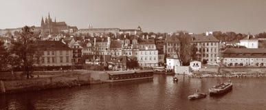 Castillo #01 de Praga Fotografía de archivo
