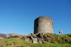 Castillo 06 de Dolbadarn Foto de archivo libre de regalías