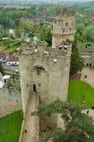 Castillo 1 de Warwick Fotos de archivo libres de regalías